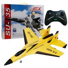Chất Lượng Cao FX-820 Mới 2.4G Máy Bay SU-35 2CH Wingspan EPP RC Máy Bay RTF Máy Bay UAV