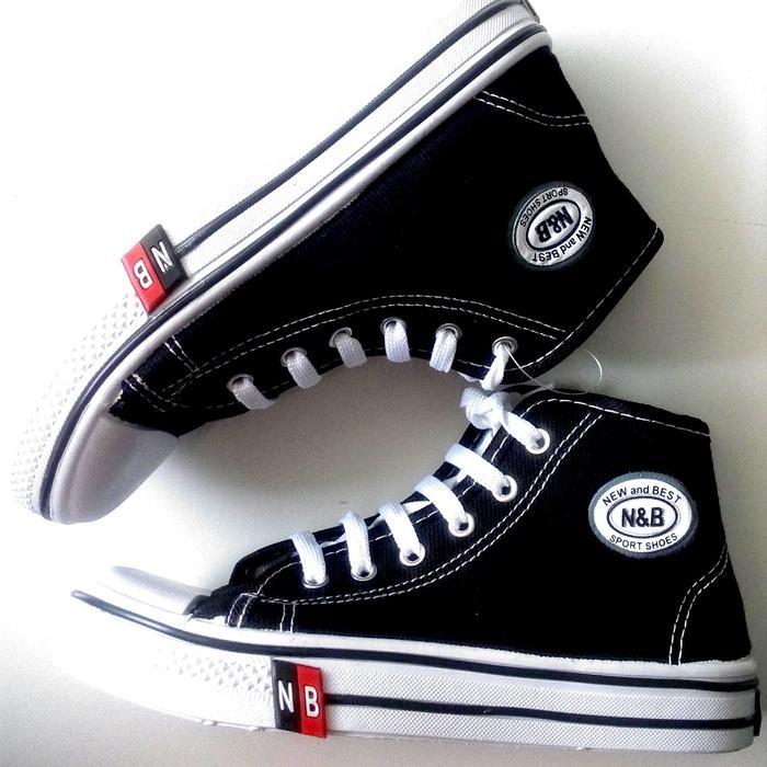 Sepatu Anak Sekolah TK SD SMP Murah HI Warna ( Hitam ) 36 - 40 7f4d4d23ad