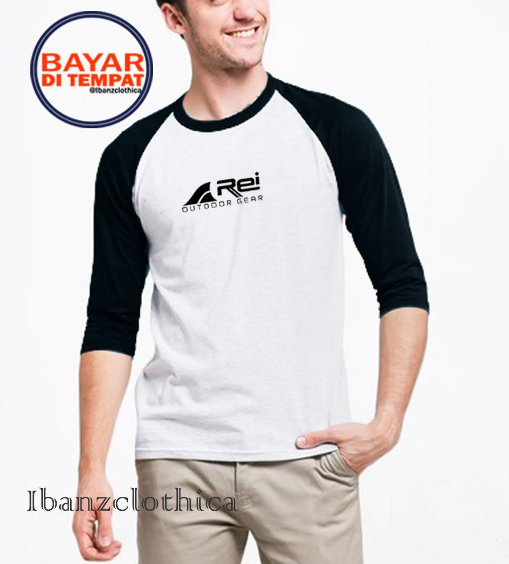 Ibanzclothica - Kaos Polos Marun - Hitam - Abu-abu - Navy - Merah Premium / Kaos Raglan / Kaos Pendaki / Kaos Rei / Kaos Outdoor