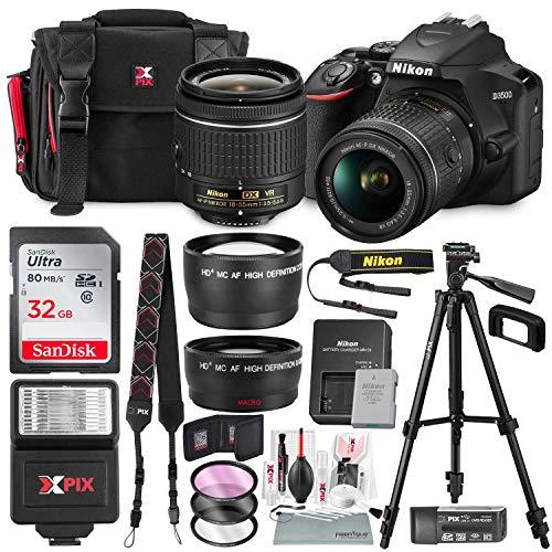 Nikon D3500 DSLR Camera with AF-P DX NIKKOR 18-55m