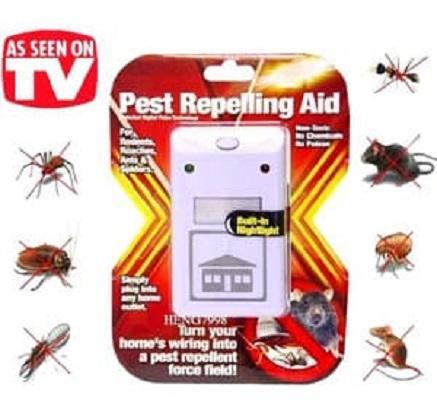 Riddex Plus Pest Repelling Aid - Alat Pengusir Tikus Kecoa Nyamuk - Merah By Obor-Baru.