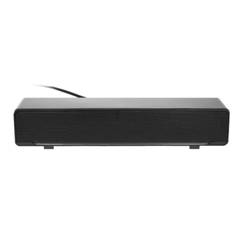 V-196 Usb Wired Computer Speaker Bar Stereo Subwoofer Powerful Music Player Bass Surround Sound Box 3.5Mm Audio Input for Pc Laptop Smartphone Tablet Mp3 Mp4 Malaysia