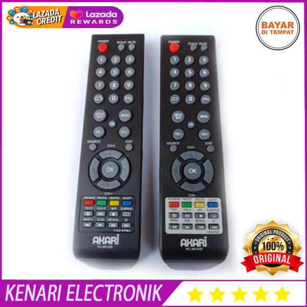 REMOTE AKARI  REMOT TV AKARI LED LCD SEPERTI ORIGINAL