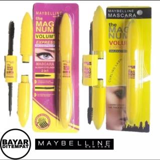 Maskara & Eyeliner 2 in 1 maybelline Magnum volume express thumbnail