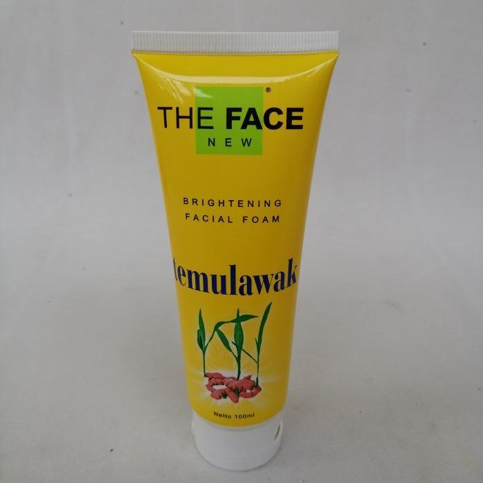 The Face Brightening Facial Foam Extra Temulawak