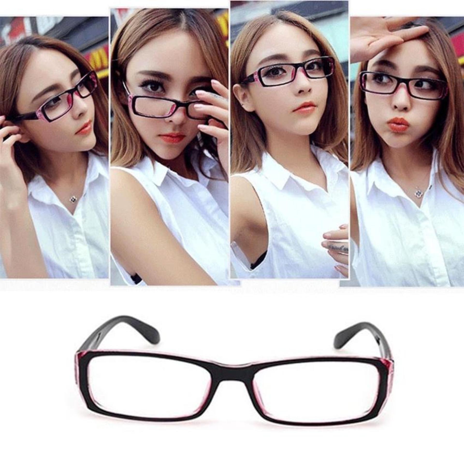 Fashionity Optical RX Modern Basic Frame Clear Lens Glasses 3211 - Kacamata  Pria dan wanita ee78763d1b