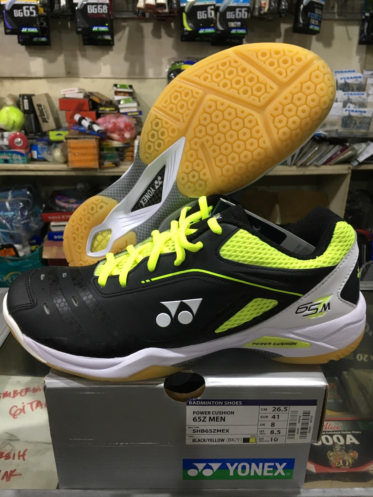Yonex SHB 65 Z MEN Sepatu Badminton (Black Yellow) 8aca657d73