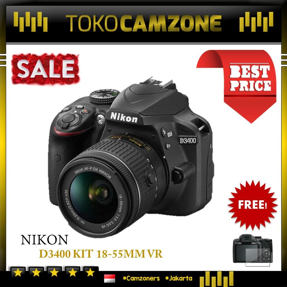 Nikon D3400 Kit AF-P 18-55mm