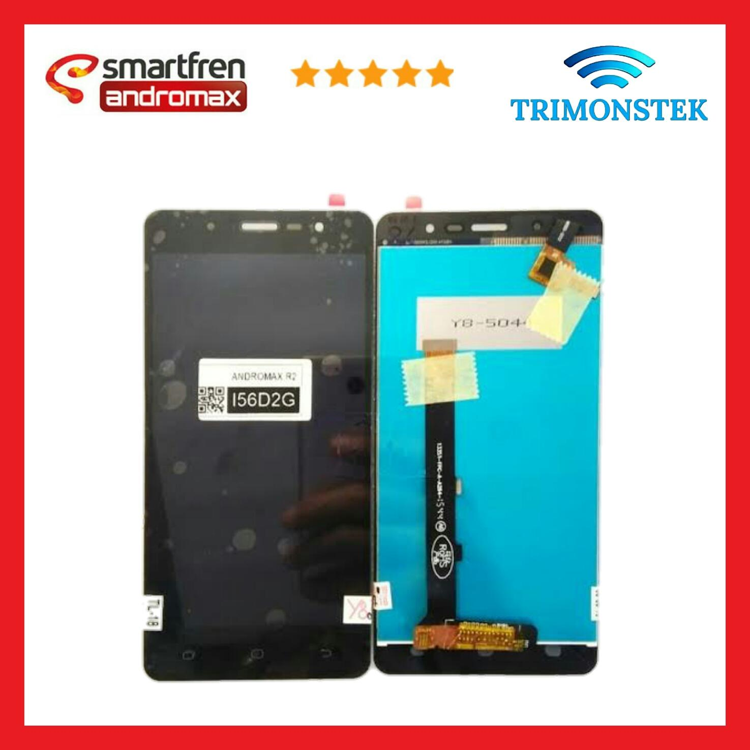 Lcd + Touchscreen Fullset Andromax R2 i56D2G 13281-FPC-A