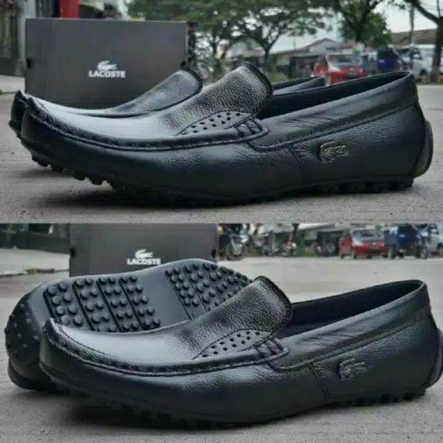 Sepatu kulit pria sepatu slip on sepatu kerja pria 52ac39ab76