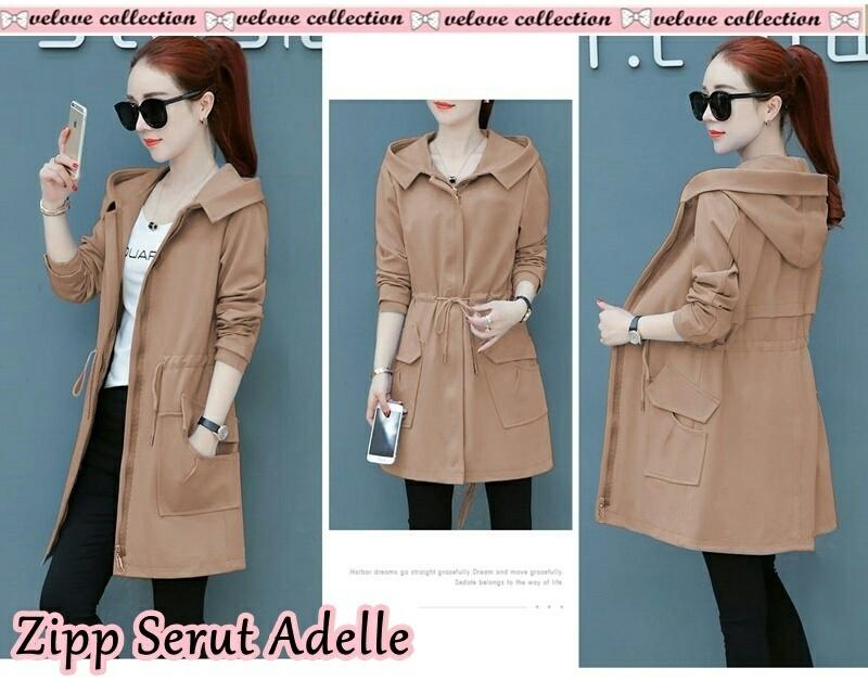 Victorious Coat Adelia /long Coat/mantel/blazer/cardigan/fashion Wanita/luaran/ By Victorious.