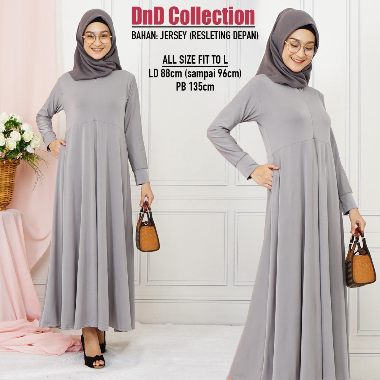 DnD - (COD) PROMO GAMIS MURAH Baju Gamis Gamis wanita Baju Muslimah Dress Muslimah