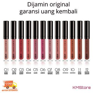 Lipcream Implora Matte lip cream improla original wardah BPOM murah thumbnail
