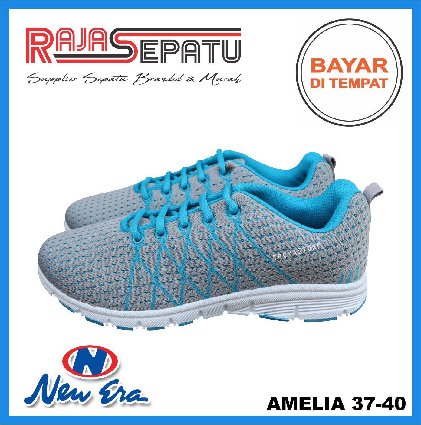 ... Wan Sarung Pria Trendi Motif 3 Silky . Source · RAJASEPATU - NEW ERA Sepatu Wanita Murah AMELIA Original / Sepatu Sporty Wanita Abu Biru /