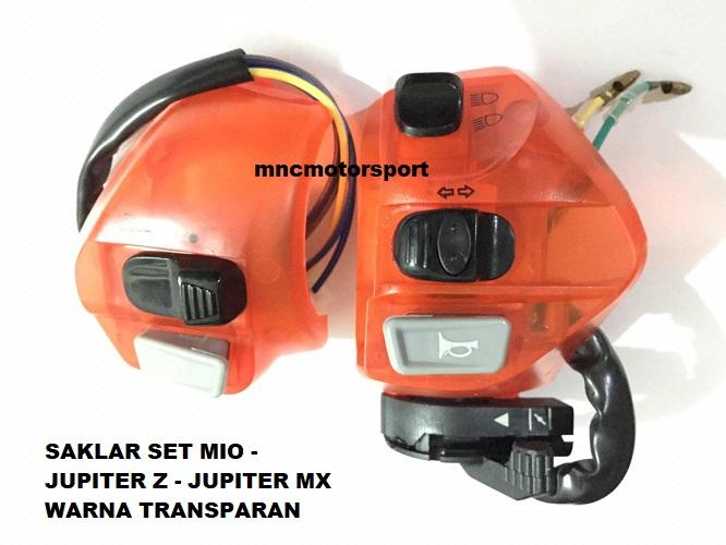 Saklar Set Mio - Jupiter Z - Jupiter Mx Warna Transparan By Mncmotorsport.