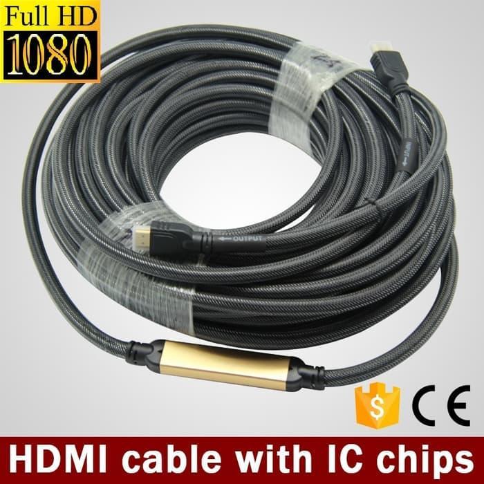 Kabel HDMI Chipset, 30 meter
