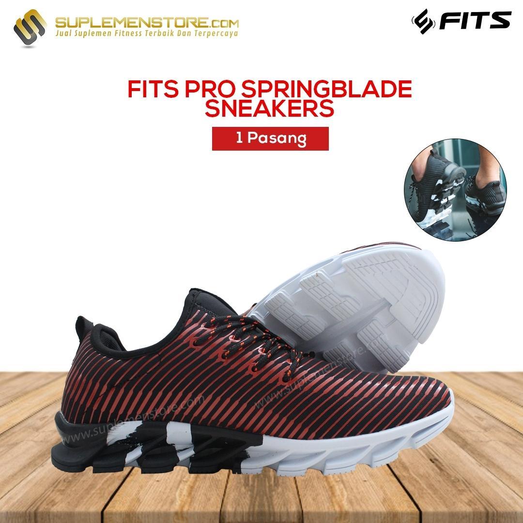 Sepatu SFIDN FITS Pro Springblade Series Sneakers Olahraga Casual Fitness  Running Sekolah Shoes 86cb8f9f8c