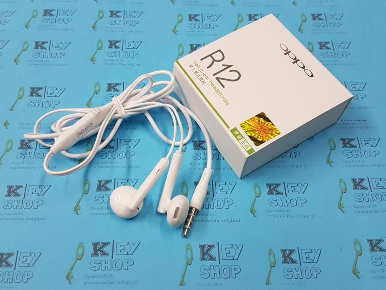 Headset Oppo R12 F1 F1s F3 A59 A37 A71 Neo 7 Original Earphone Hansfree