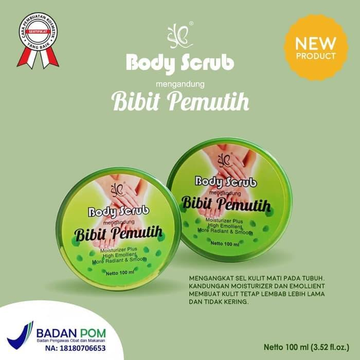 Body Scrub Bibit Pemutih 100% Asli Original Bpom By Syb - Whitening Body Scrub - Hand And Body Scrub - Pemutih Tubuh - Pemutih Badan Permanen - Body Scrub Pemutih Badan - Body Scrub Bibit Pemutih Badan Syb By Imanda Store.