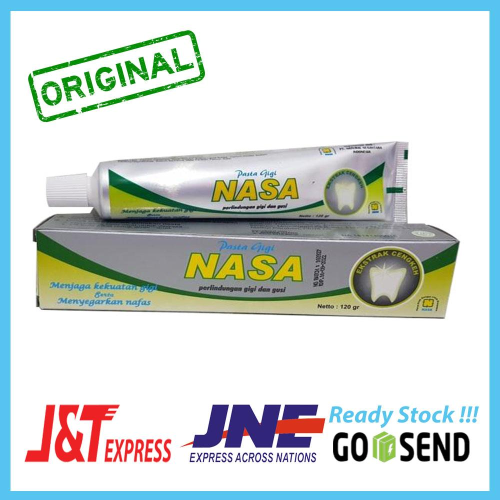 Pasta Gigi NASA Odol Original 100% Sikat Gigi Herbal Dengan Ekstrak Cengkeh  Menjaga Kekuatan Gigi fab87fe736