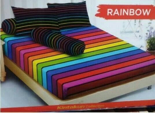 Sprei/seprai Rainbow Single 120x200 By Nemo Store