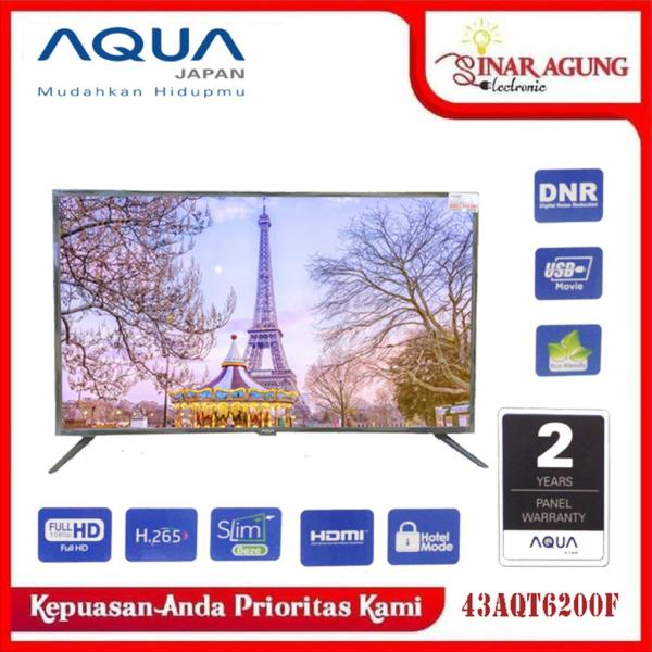 AQUA LED TV FULL HD LE 43AQT6200 F / 43 AQT 6200 F [43INCHI]