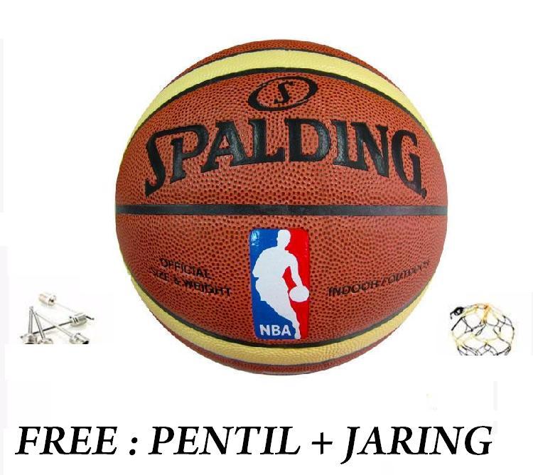 Bola Basket Spalding Nba Olahraga Basket Ball By Supreme.