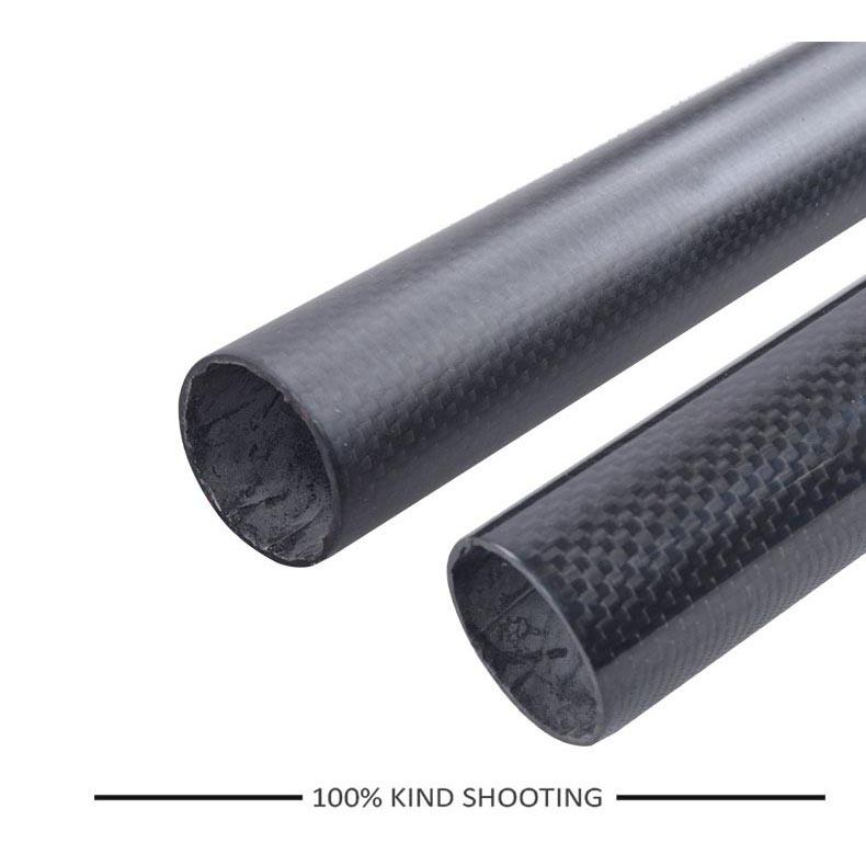 ORIGINAL - Tiang Dudukan Jok Sepeda Full Carbon Matte Seatpost 400 x 27.2mm - SP-006 - Black