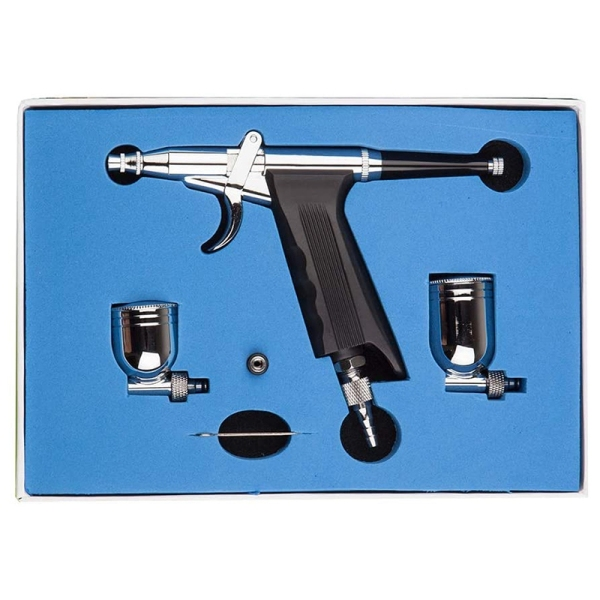 SP166 Professional Trigger Air-Paint Control Airbrush Perfect for Cosmetic Makeup Model/Body/Car Painting