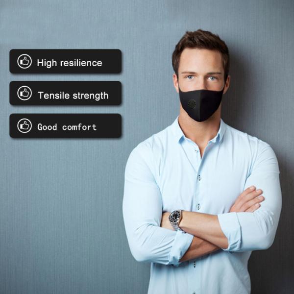 JosheLife 2pcs Air Purifying Sponge Cover Mouth Muffle Carbon Filter Dust Haze Fog Respirator Men Women ready stock
