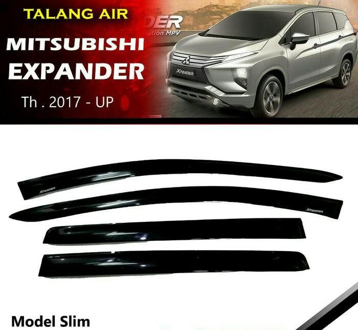 Talang Air Mobil Mitsubishi Xpander Model Slim