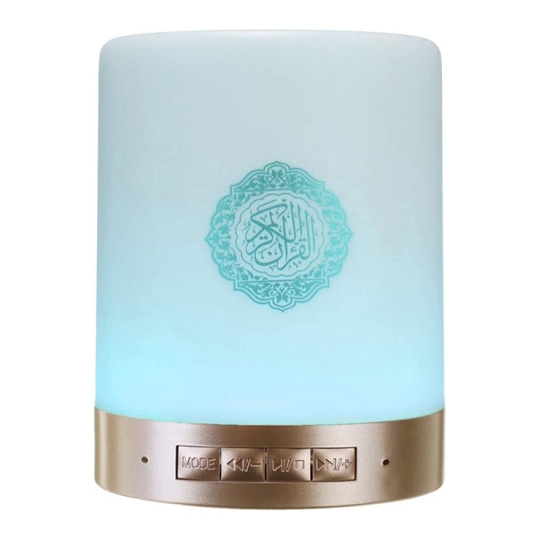 8G Bluetooth Quran Speaker Book with Handle LED Remote Control Lamp Support MP3 FM TF Card Radio Malaysia