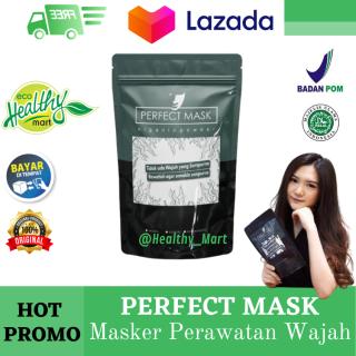 PERFECT MASK 5X PAKAI - Masker Perawatan Wajah Terbaik Didunia - Masker Wajah Jerawat dan Bekas Jerawat by healthy mart thumbnail