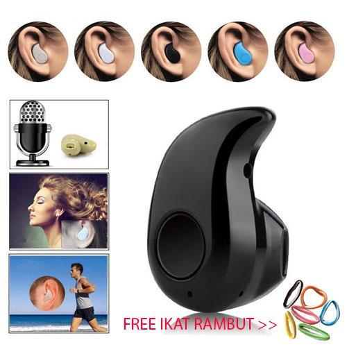 S530 Mini Portabel 4 1 Nirkabel Bluetooth Earphone Olahraga Stereo  High-fidelity Kualitas Suara Headset Headphone For Hampir Semua Ponsel AND  Tablet