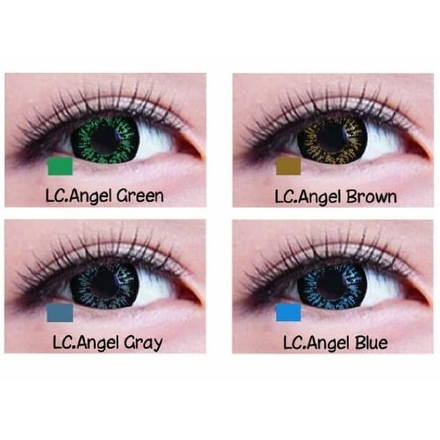 Softlens Living Color Angel 2 Tone Gratis Tempat Softlens By Tonie Marie.