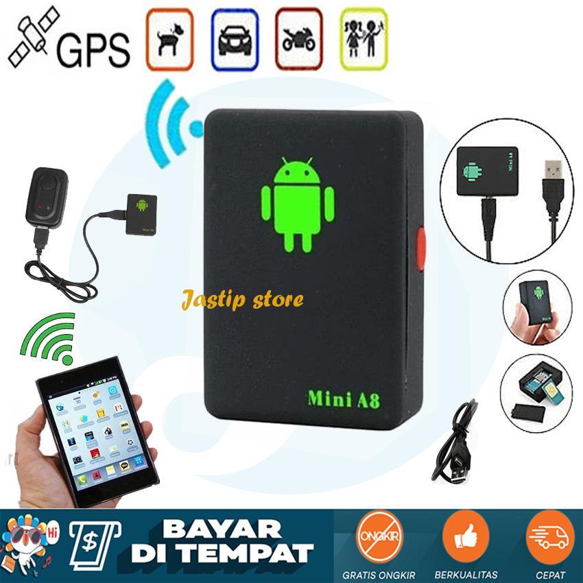Mini A8 Alat Sadap & Gps Tracker Support All Gsm - Mini A8 Gps Pelacak Mobil