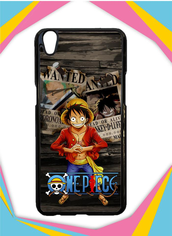 Casing Hardcase Custom OPPO A37F one piece Q0077 Case Cover
