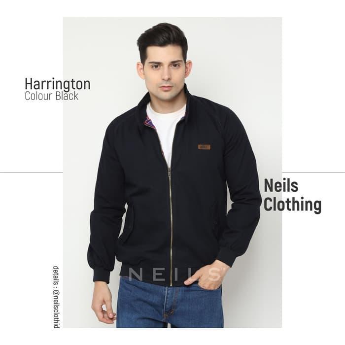 JAKET HARRINGTON / NEILS BLACK ORIGINAL BANDUNG / KASKUS - ready stock