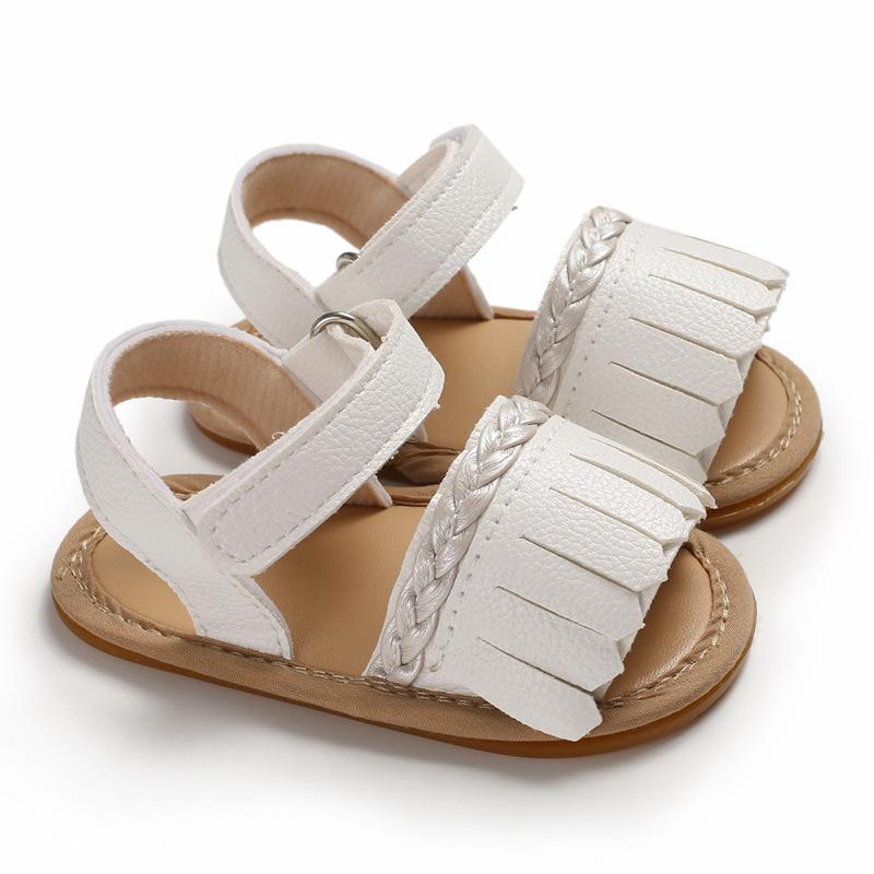 656240067dbbe Korean Baby Non-Slip Sandals Shoes for 1-2 Year Old Baby Girl Walk Rubber  Sandals Loafers Shoes