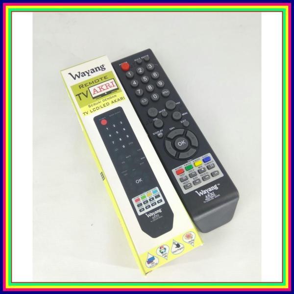 Remot Remote TV Akari LCD / LED Multi Universal