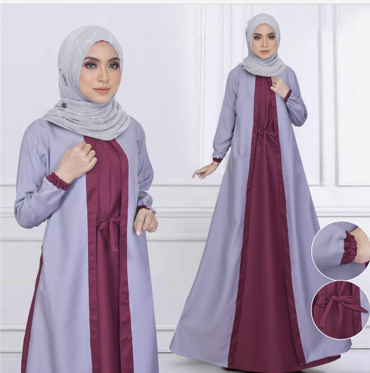 Gamis Remaja Kekinian Baju Muslim Bianca Lazada Indonesia