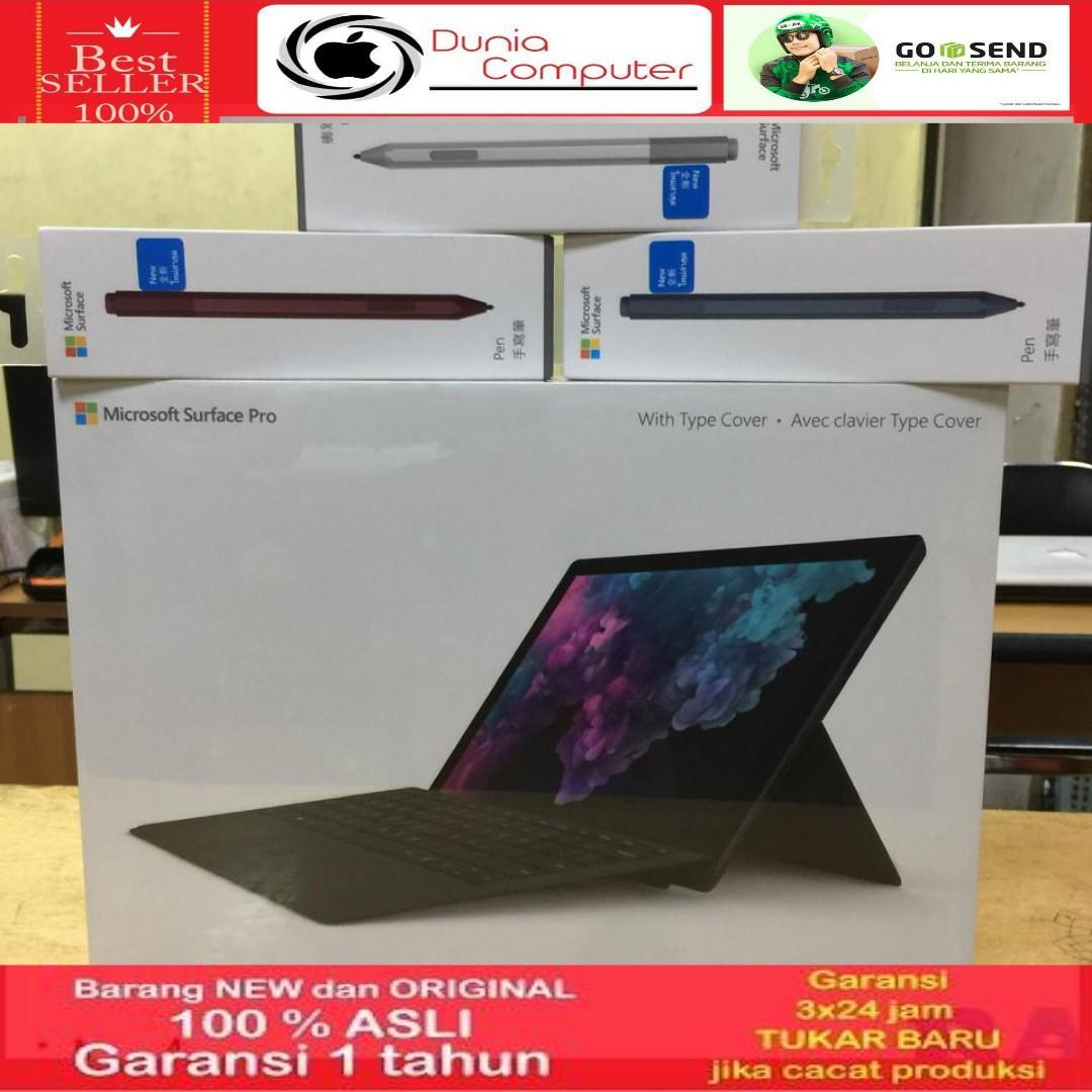 Microsoft Surface Pro 6 i5 8GB SSD256GB Black+Cover Black+Stylus pen Platinum