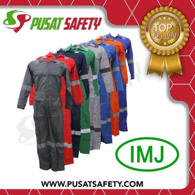 Wearpack Coverall Safety Imj Uk. L By Pusat Safety.