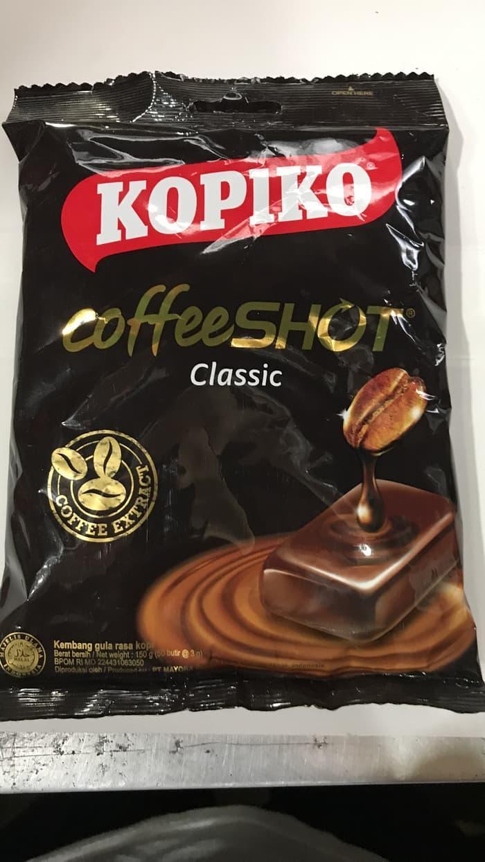 Paling Laris Permen Kopiko 1 Bungkus 50 Butir 150 Gram / Coffee Candy Pahit Kopi By Aulia Najwa.