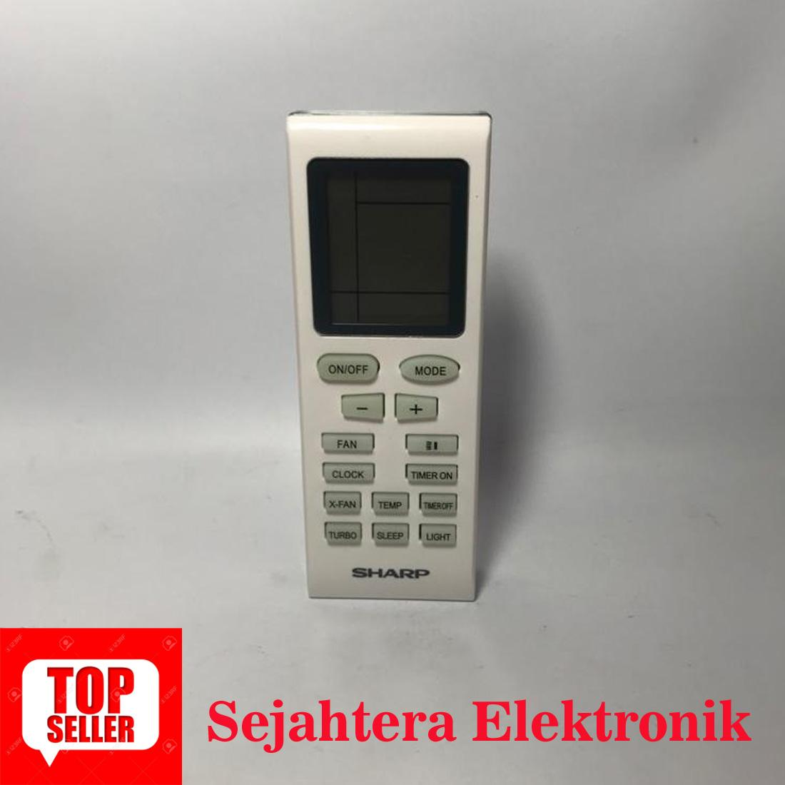 REMOT/REMOTE AC SHARP ORIGINAL Gratis Baterai