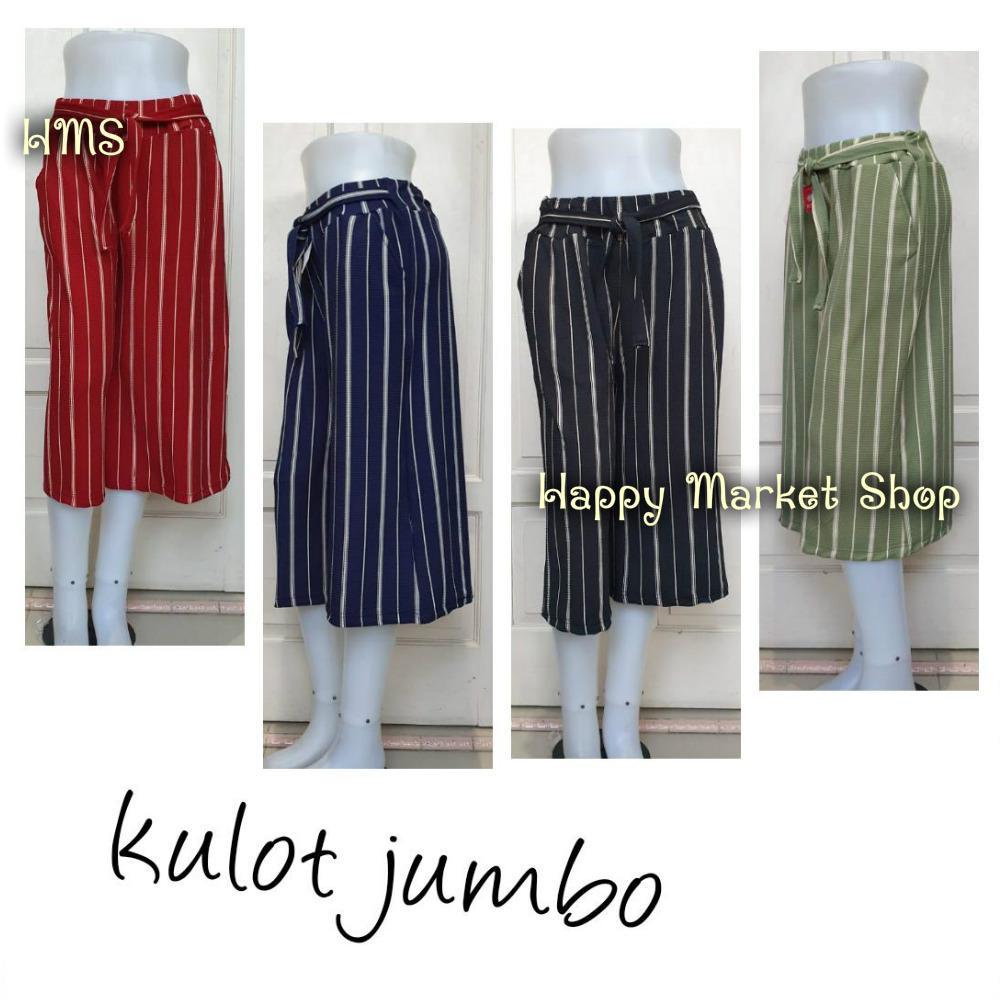 Celana Pendek Kulot Jumbo - Fashion Wanita Terkini ( Happy Market Shop)