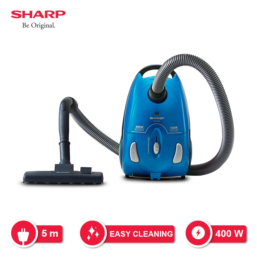 Sharp Ec-8305-B Vacuum Cleaner - Biru By Lazada Retail Sharp.
