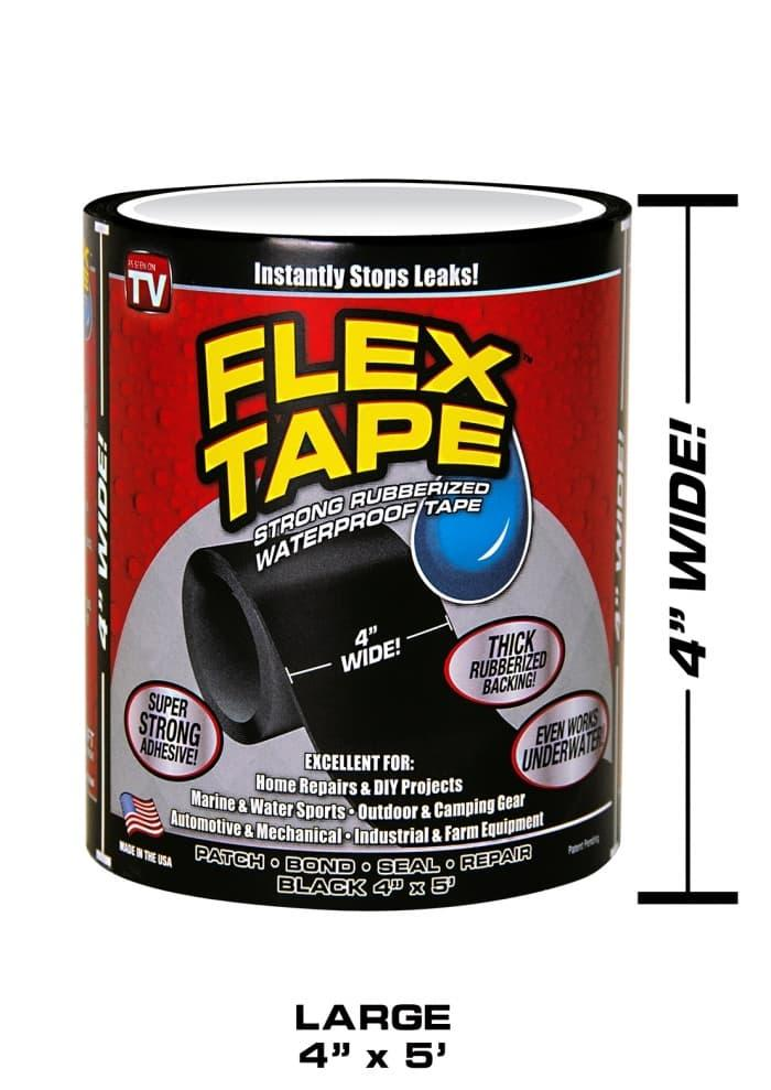 Flex Tape 4 Isolasi Ajaib Super Kuat Strong Rubberized Waterproof By Royalshop.