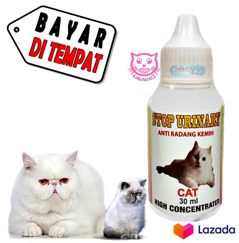 obat kucing susah kencing sakit sembelit infeksi saluran kemih kucing kencing darah stop urinary ukuran 30ml
