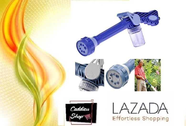 EZ Jet Water Canon Semprotan Air Dengan 8 Mode Water Canon Biru